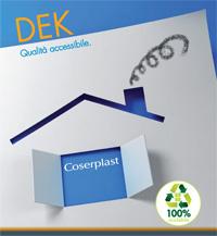 Coserplast: serie Dek